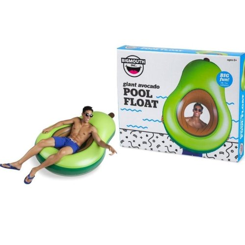 BigMouth Inflatable Giant Avocado Pool Float Beach Holiday Swimming Lounger Water Beach