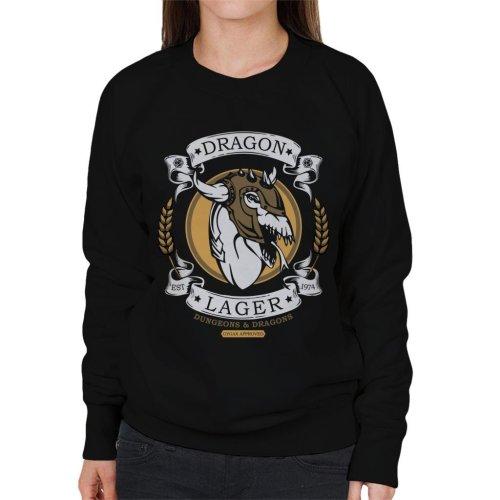 Dungeons And Dragons Dragon Lager Women's Sweatshirt