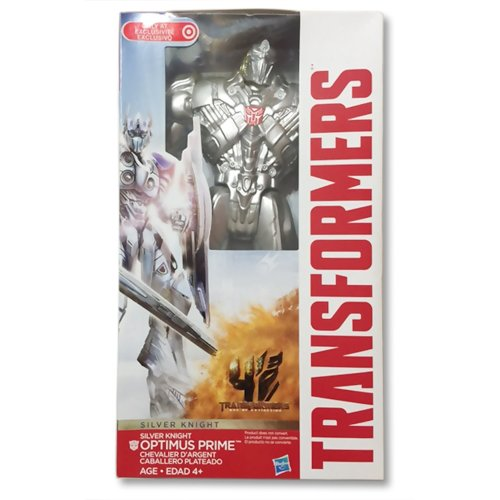 Transformers Optimus Prime Silver (Last) Knight Action Figure New Sealed