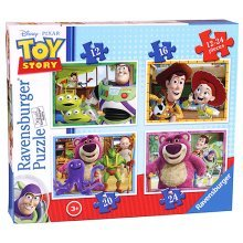 Ravensburger 4 in a Box Puzzles - Toy Story