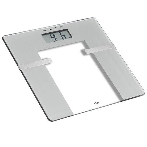 Weight Watchers Ultra Slim Body Analysis Home Bathroom BMI Scale - Silver/Glass