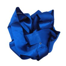 Gym Dance Ribbon Rhythmic Art Gymnastic Streamer Twirling Rod Stick Blue