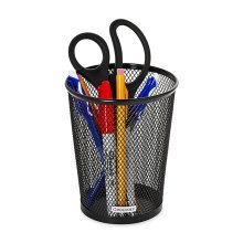 Mesh Wastebasket Office Pen Container