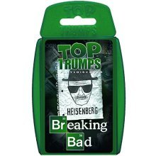 Breaking Bad Top Trumps Card Game