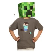 Authentic Minecraft Kids Confused T Shirt