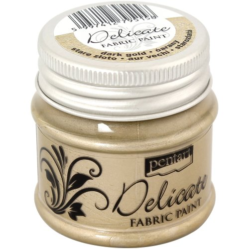 Delicate Fabric Paint 50ml-Dark Gold