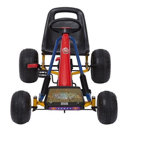 Homcom Kids Ride Car Go Large with Hand Brake Red