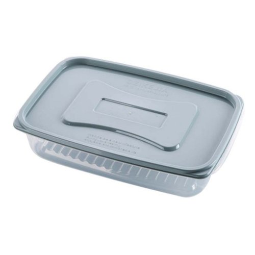 Set of 2 Egg Tray Egg Holder Egg Container Vegetable Storage Box Plastic,C