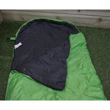 Summit Mummy Therma Sleeping Bag 250gsm - Green Camping Adult - Festival -  summit 250gsm mummy therma sleeping bag camping festival holiday hiking