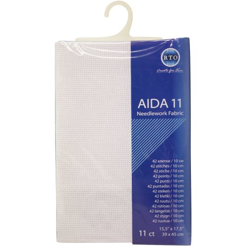 RTO Aida 11 Count 39X45cm-White