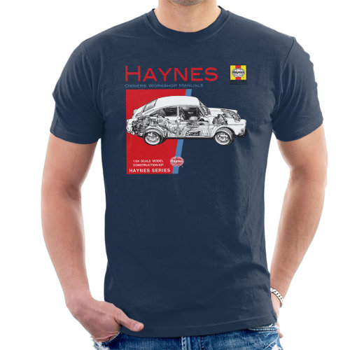 Haynes Owners Workshop Manual 0084 Volkswagen 1600 Fastback Men's T-Shirt