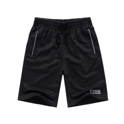 Quick-drying Pants Men Casual Boardshorts Holiday Loose Beach Shorts Black