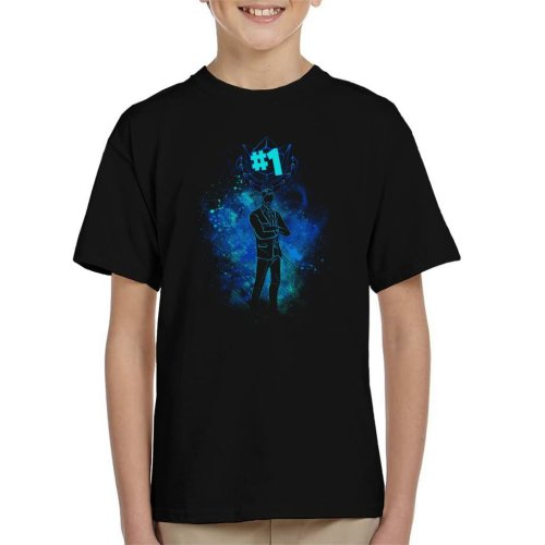 Fortnite The Reaper Silhouette Kid's T-Shirt