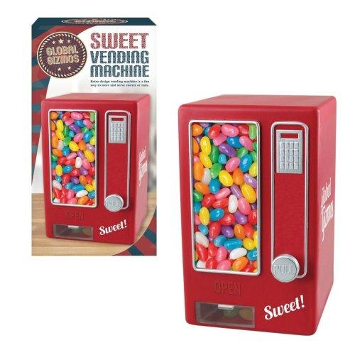 Global Gizmos Vintage Sweet Vending Machine Desktop Novelty Sweet Dispenser