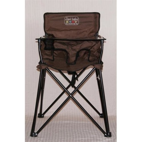 Jamberly HB2004 Ciao! Baby Portable Highchair - Chocolate