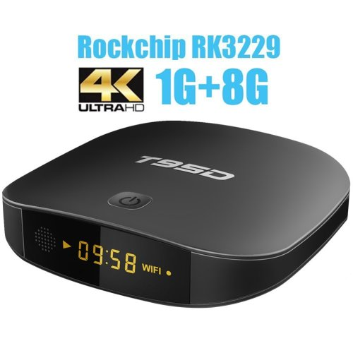 T95D Android TV Box with Android 6 0 Rockchip RK3229 Quad-Core 1GB
