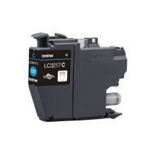 Brother Lc-3217c 550pages Cyan Ink Cartridge