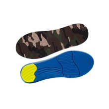 """Camouflage Elastic Moisture-wicking Insoles Pain Relief Shoe Insoles (L, 12.4"""")"""
