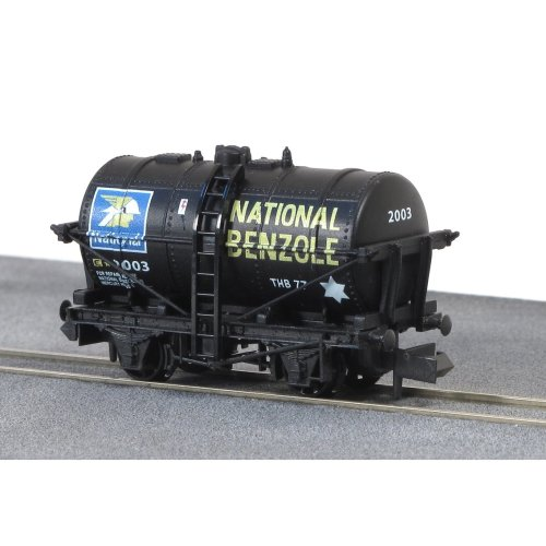 10ft Tank Wagon National Benzole No.2003 - N gauge wagon Peco NR-P181 - P3