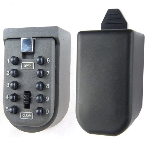 Hyfive - Key Safe Box - Outside Wall Mounted Combination Lock Case