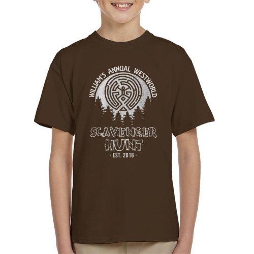 Williams Annual Scavenger Hunt Westworld Kid's T-Shirt