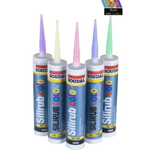 Soudal Silicone Sealant Various Colours Home DIY