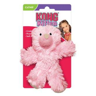 Kong Kitten Teddy Bear Catnip Toy (Assorted Colours)