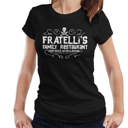 Fratellis Restaurant The Goonies Women's T-Shirt