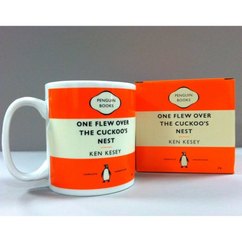 Penguin Mug: One Flew Over the Cuckoos Nest (Orange)