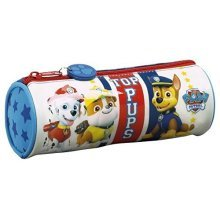 Paw Patrol Barrel Pencil Case - Top Pups - School Gift Girls Boys Stationery -  paw patrol pencil school top pups case barrel gift girls boys