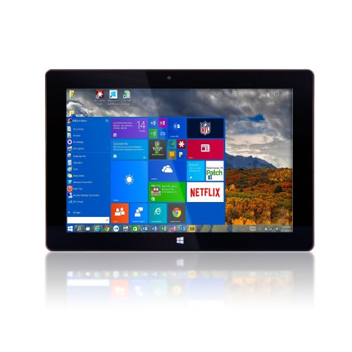 "10"" Windows 10 Fusion5® v1 Windows Tablet PC 2GB RAM, 32GB Storage Full USB Port"