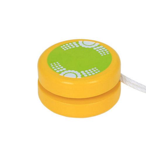 Wooden Children's Color Yo-Yo Classic Toy#C