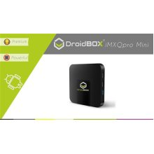 DroidBOX iMXQpro Mini Android 7.1 Nougat Smart Mini PC 4K UltraHD HDR Compatible Amlogic S905W Quad-Core 2GB RAM 16GB ROM [W.IR]
