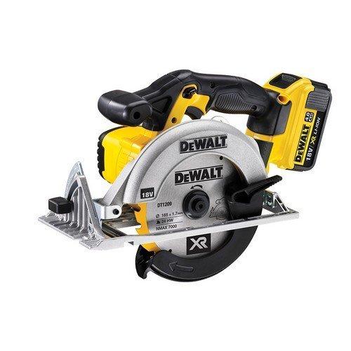 DeWalt DCS391M2 165mm XR Premium Circular Saw 18 Volt 2 x 4.0Ah Li-Ion