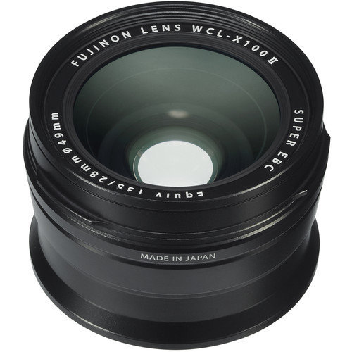 FUJI WCL-X100 II Black Wide Conversion Lens