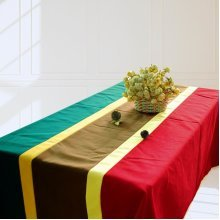 Rectangle Tablecloth Canvas Table Cloth Simple Geometric Style Table Cover
