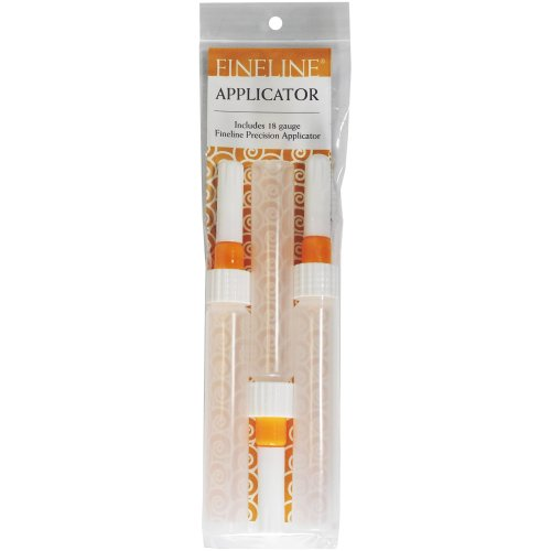 Fineline 18 Gauge Precision Applicators - Empty 3/Pkg-1oz