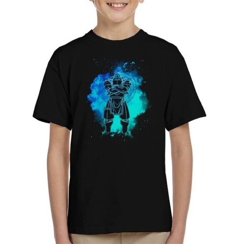 Soul Of The Armor Alphonse Elric Fullmetal Alchemist Kid's T-Shirt