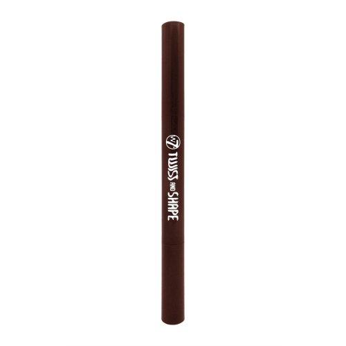 W7 2 in 1 Easy Twist Brow Pencil & Comb Dark Brown