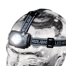 Ring Cybalite Sport 5 Led Adjustable Head Torch New
