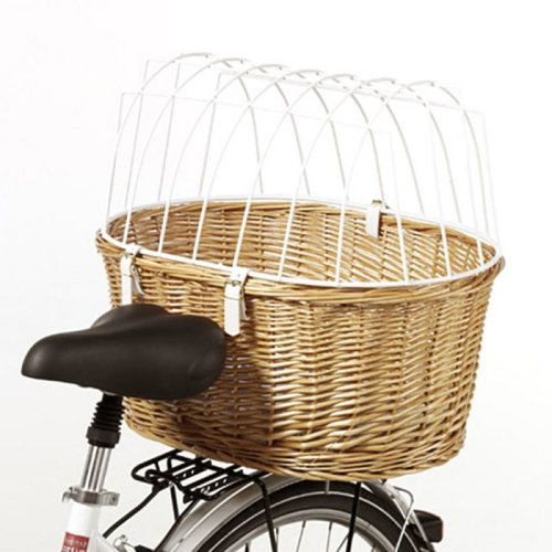 Bike Wicker Basket For Dogs Suitable for E-Bikes Bicycles