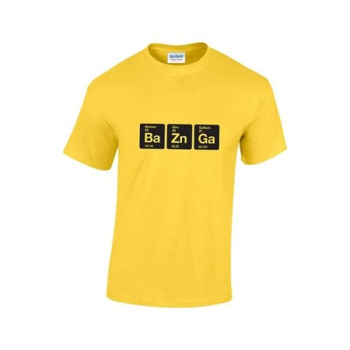 9fa453770 (Yellow, X-Large) Bazinga Elements T-Shirt on OnBuy
