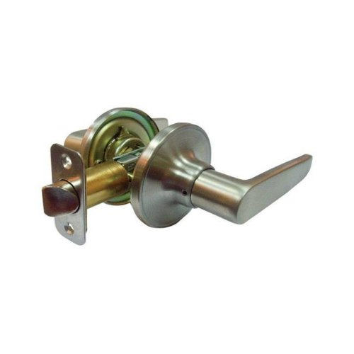 Faultless 5002041 Olympic Lever Satin Stainless Steel Metal Privacy Lever Knob with 3 Grade Right Handed