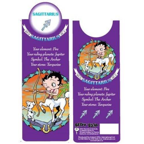 Betty Boop Sagittarius Bookmark