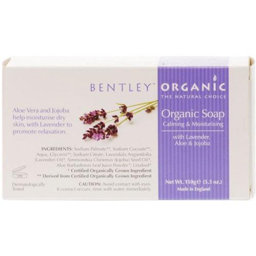 Bentley Organic Deep Cleansing Bar Soap 150g