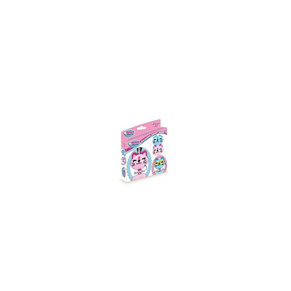 Pencil Pets  Pink amp Blue Kitten Kit