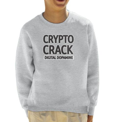 Cryptocrack Digital Dopamine Kid's Sweatshirt