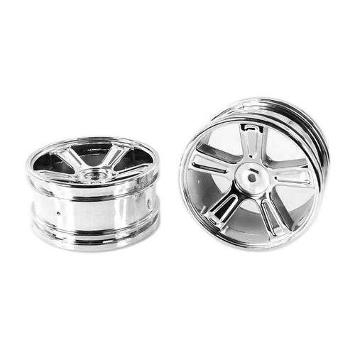 Himoto 1:18 Wheel Set for Chrome (2pcs) for E18 Series