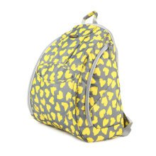 Fashionable High-Capacity Diaper Bag Baby Items Bag Mommy Backpack-Yellow