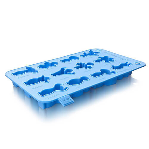 Vacu Vin Silicone Ice Cube and Baking Tray - Blue